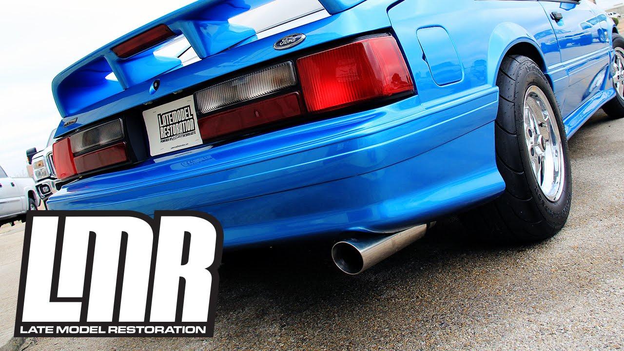 Pypes Mustang Pype    Bomb    Cat Back Exhaust  7904 Fox Body