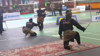 Pencak Silat Demo at Sofia, Bulgaria