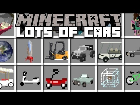 Minecraft TRANSPORTATION MOD / RIDE AROUND ON PLANETS, CARS AND BIKES!! Minecraft