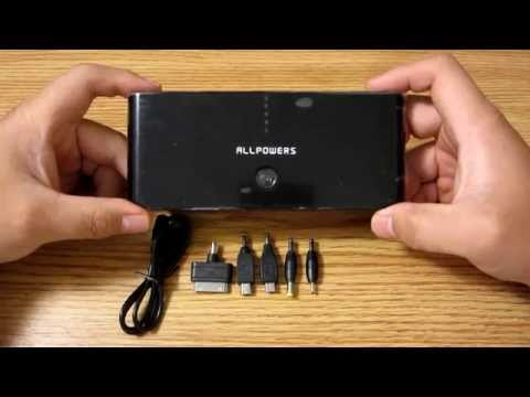 AllPowers 50000mAh Power Bank Battery backup charger Review