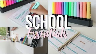 School Essentials | Bo