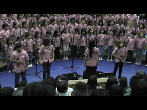 """PRIDE Round & Rap"" by Salt Lake Elementary School Chorus @2010 Moanalua Complex Concert"