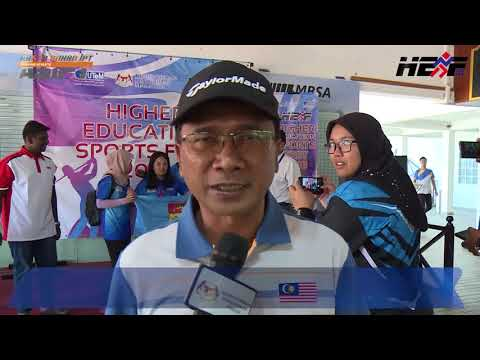 ARENA SUKAN IPT 2018 - Penyampaian Hadiah Golf Higher Education Sports Fest 2018