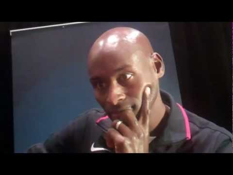 Bernard Lagat the 2012 USOC Media Summit Part I