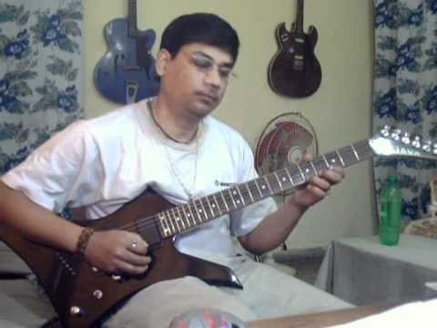 Sagar kinare Solo on Guitar