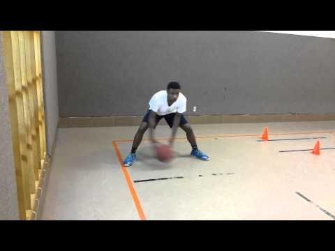 Basketball Crossover drill
