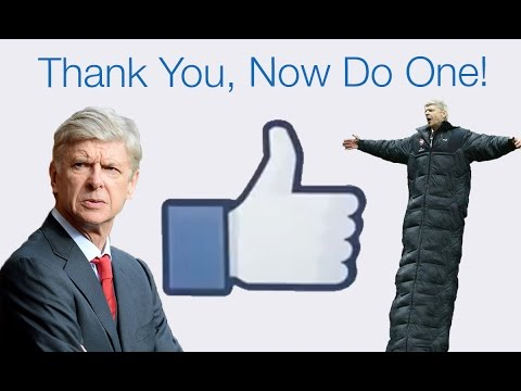 Arsenal Fans' Say Thanks Facebook Video For Arsene Wenger