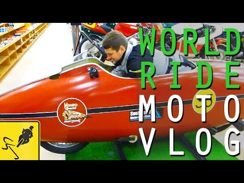 The World's Fastest Indian Motorcycle Museum, New Zealand - MotoVlog