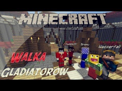 Minecraft Gladiatorzy - Husiek,Madzik89,Buraczek vs Skkf,Bremu,MinecraftPolska