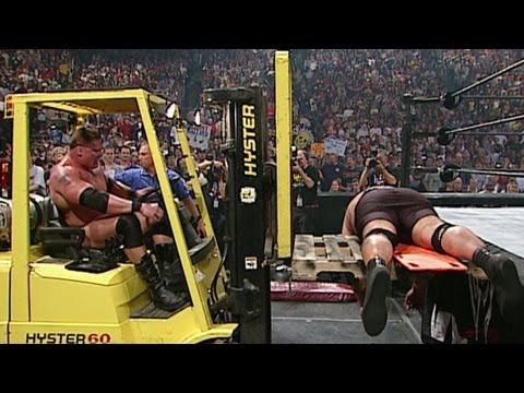 Brock Lesnar Vs. Big Show: Judgment Day 2003 video