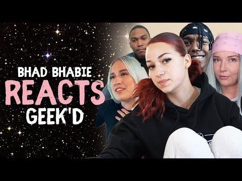 "BHAD BHABIE Reacts to ""Geek'd"" Music Video Reactions -  | Danielle Bregoli thumbnail"