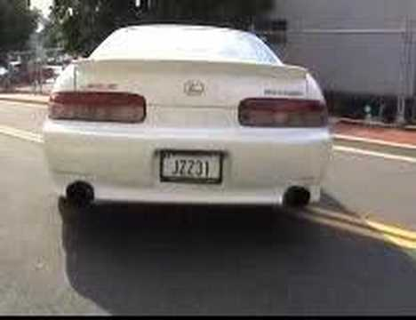 ModifiedMotion Sherwins Lexus SC300 Video