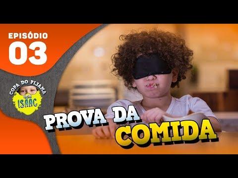 DESCOBRINDO QUAL É A COMIDA DE OLHOS VENDADOS!! #CopaDoPijama - Ep 03 | Isaac do VINE thumbnail
