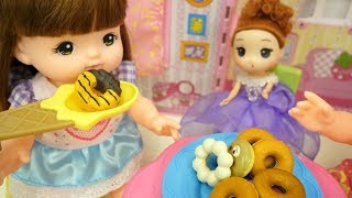 Baby doll Donut Shop Happy Story ☆Stew cooking with vegetables & fish