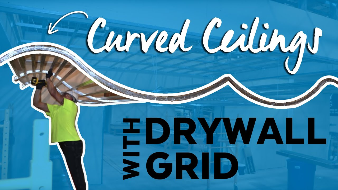 Armstrong Official Curved Drywall Grid Capabilities Youtube