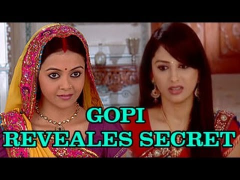 Watch Gopi REVEALS Rashi's BIG SECRET to FAMILY in Saath Nibhana Saathiya 7th February 2013