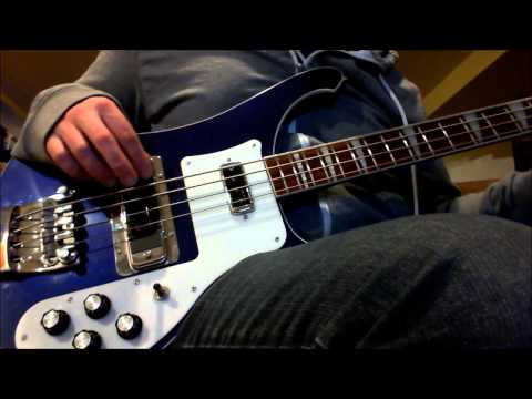 Low Tuned Rickenbacker 4003 Bass Demo/Noodle