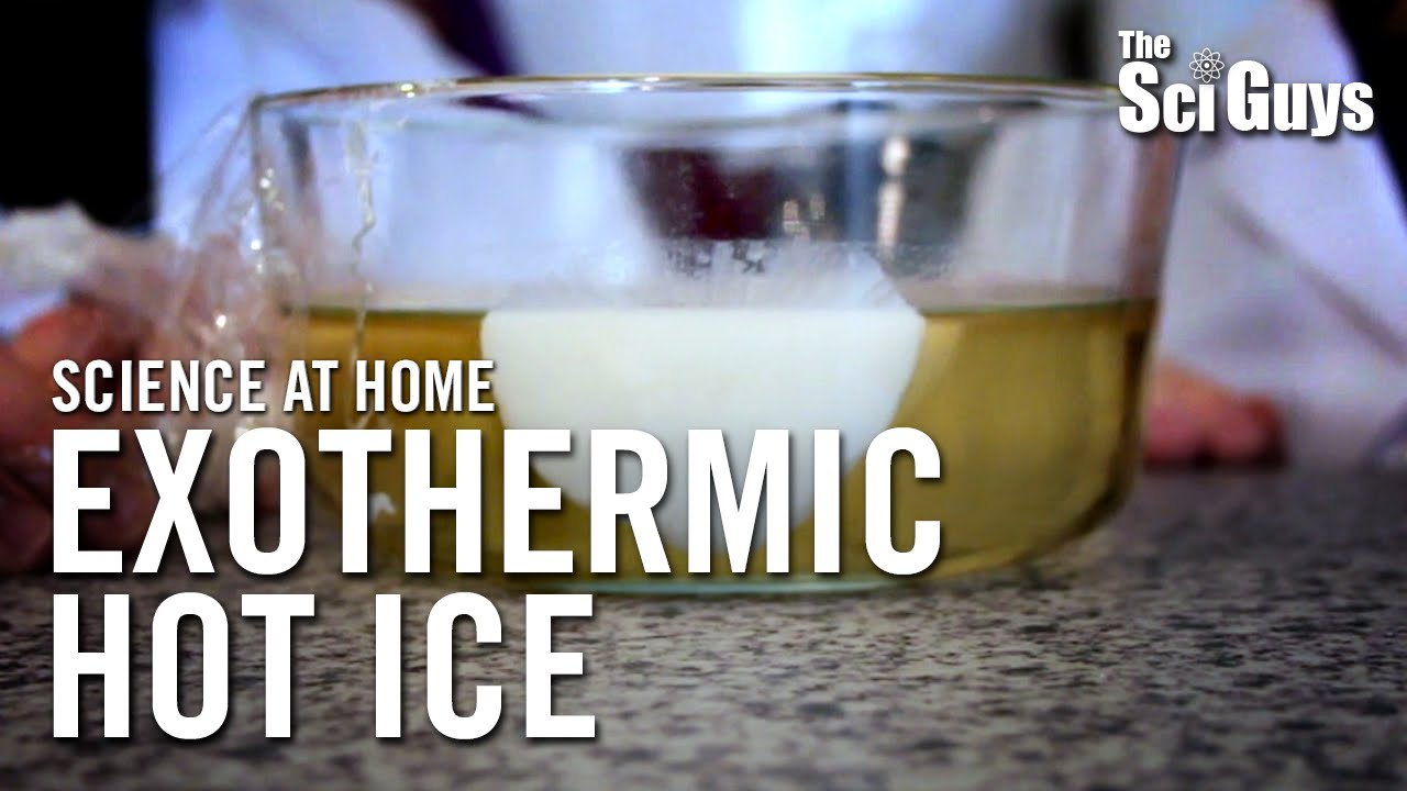 a lab experiment on exothermic reaction Learn about endothermic and exothermic chemical reactions and get instructions to perform your own hot and cold chemistry experiments.