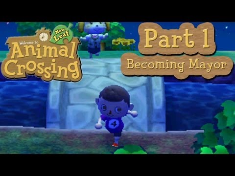 Animal Crossing: New Leaf - Part 1: Becoming Mayor of A-Nation (AbdallahNATION)!