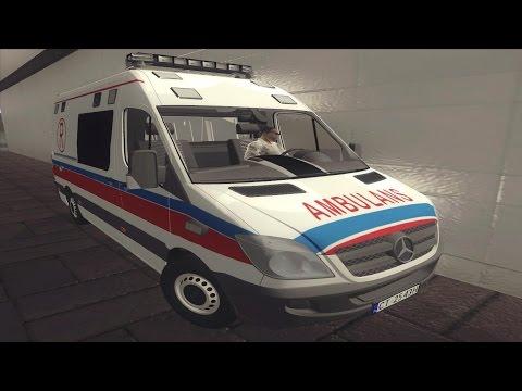 Mercedes Sprinter polski ambulans Ambulance Karetka GTA SADOWNLOAD LINK