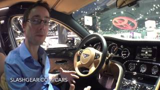 2015 Bentley Mulsanne Speed First-look at LA Auto Show 2014