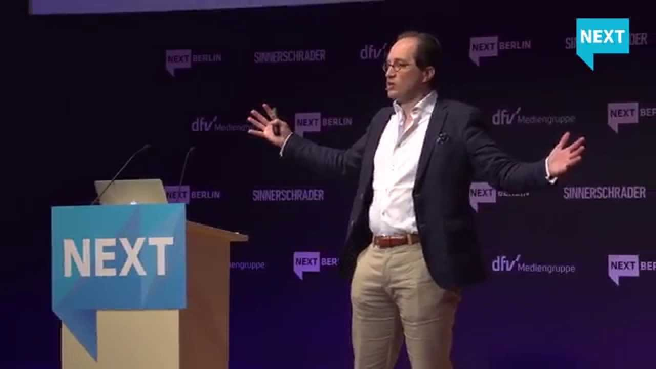 NEXT Berlin - Peter Hinssen - The Network Always Wins