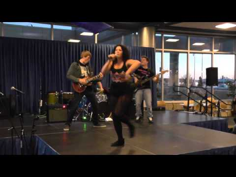 Stephanie Parris and the Sex Panthers - Iowa Western Talent Show 2014