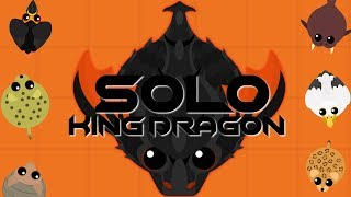 SOLO KING DRAGON GAMEPLAY! // KD UPDATE! // MOPE.IO