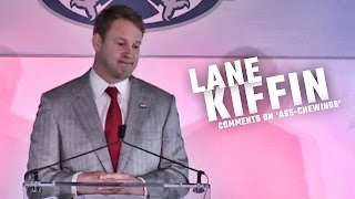 Kiffin comments on