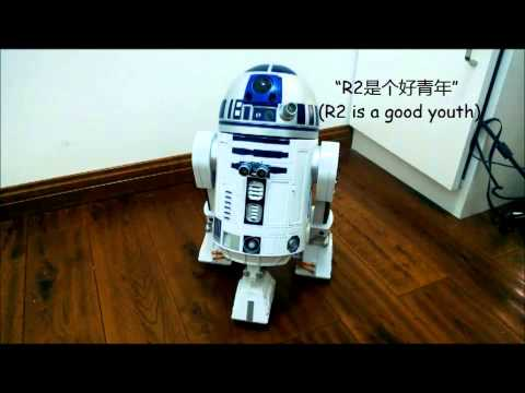 R2D2 Robot Powered by Raspberry Pi