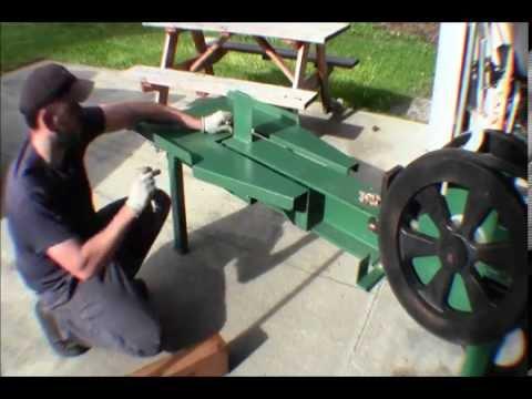 Ricks DIY Assembling Rapid Fire Kinetic Flywheel Wood Super Splitter