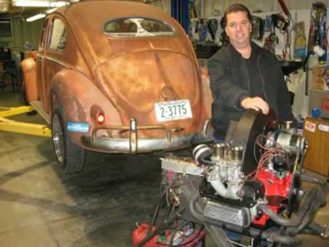 1957 VW OVAL RAT ROD BUG HOT ROD VOLKSWAGEN