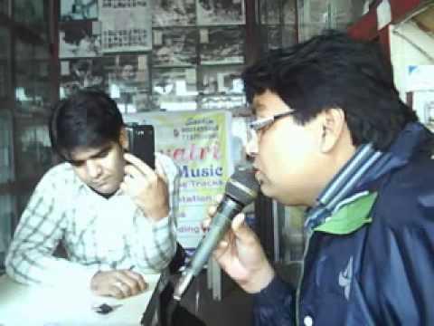 Khilona jaan kar tum=Sachin Voice Live-20-12-12.