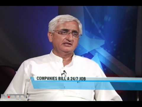 Salman Khurshid on Companies Bill