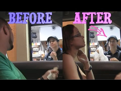 Gender Switching Drive Thru PRANK