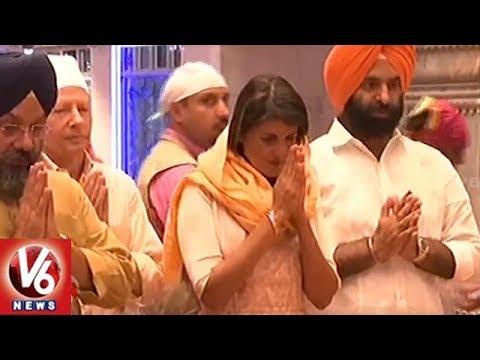 US Ambassador Nikki Haley Visits Delhi Gurdwara | Nikki Haley Made Roti For Langar | V6 News