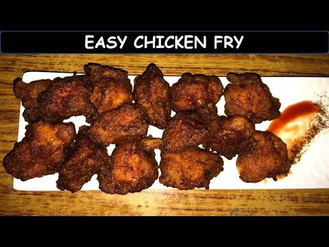 Easy Chicken Fry | Chicken Fry Recipe | Restaurant Style Chicken Fry Recipe
