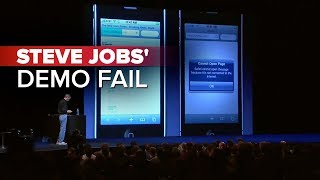 CNET News_ Steve Jobs' demo fail