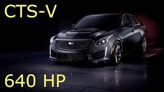 2017 Cadillac CTS-V Carbon Black Pack - Review