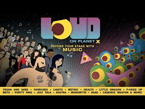LOUD on Planet X APK Cover