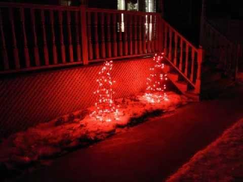 DIY Outdoor XMas Tree