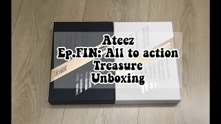 Unboxing ATEEZ 1st Full Album Ep.FIN: All To Action TREASURE