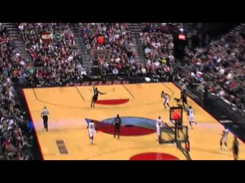 NBA Miami Heat Vs Portland Trail Blazers Highlights Mar 1, 2012 Game Recap