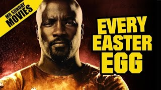 LUKE CAGE All Easter Eggs, Cameos & References