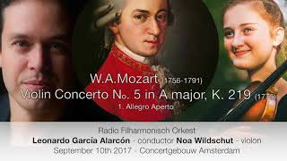 W.A. Mozart - Violin Concerto No. 5 in A major, K. 219 1. Allegro aperto