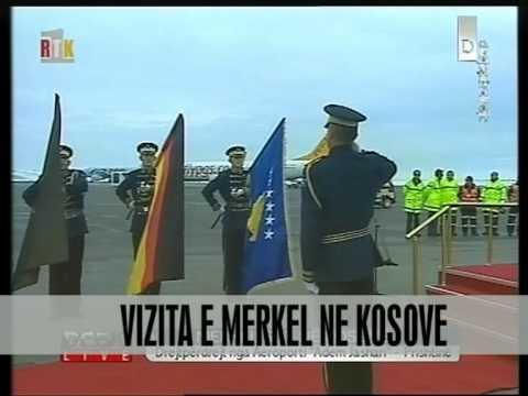 Merkel: Mbështetje për Kosovën - Vizion Plus - News - Lajme