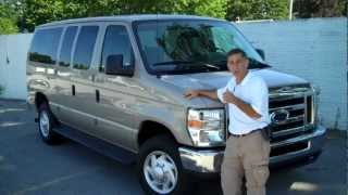 Ford E-350 Econoline 12 15 Passenger Vans @ Brondes Ford Toledo