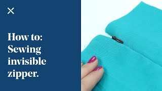 How To: Sewing Invisible Zipper