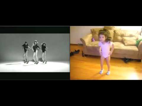 Beyonce vs Little Girl Arianna