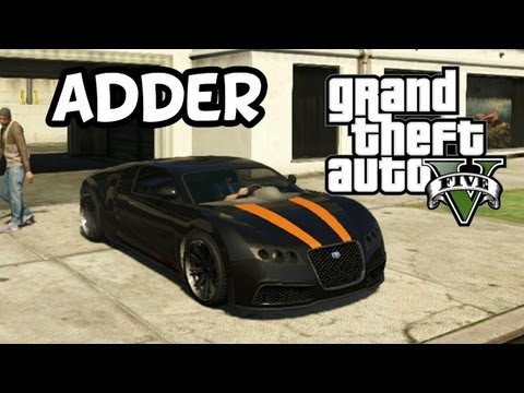 grand theft auto 5 secret car location adder bugatti veyron how to save money and do it. Black Bedroom Furniture Sets. Home Design Ideas